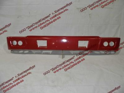 Бампер H красный самосвал металлический HOWO (ХОВО) WG1641240001 фото 1 Благовещенск