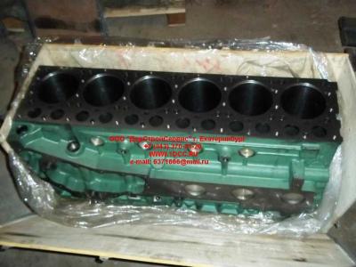 Блок цилиндров двигатель WD615.68 (336 л.с.) H2 HOWO (ХОВО) 61500010383 фото 1 Благовещенск