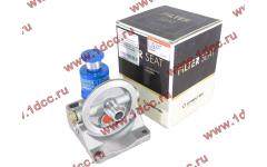 Кронштейн топливного фильтра грубой очистки (с помпой, 4 отверстия, d-14) H3/SH/F CREATEK
