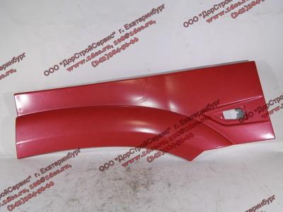 Крыло кабины со спальником красное задняя часть левая (под треугольный повторитель в конце) H3 HOWO (ХОВО) WG1642230107 фото 1 Благовещенск