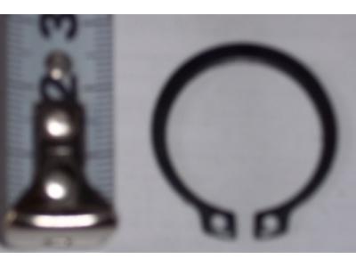 Кольцо стопорное замковое шестерни полуоси H HOWO (ХОВО) 190003933351 фото 1 Благовещенск
