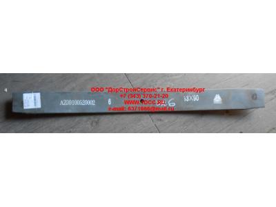 Лист 6х4 №07 передней рессоры L-780 H HOWO (ХОВО)  фото 1 Благовещенск