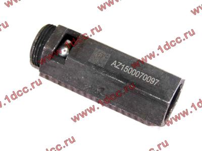 Клапан предохранительный главной масляной магистрали двигателя H HOWO (ХОВО) VG1500070097 фото 1 Благовещенск