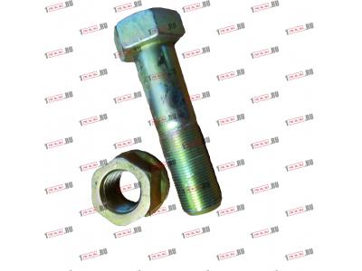 Болт крепления прямой реактивной тяги короткий H2/H3 HOWO (ХОВО) 190003803974 фото 1 Благовещенск