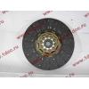 Диск сцепления ведомый 420 мм H2/H3 HOWO (ХОВО) WG1560161130 фото 2 Благовещенск