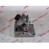 Кронштейн топливного фильтра грубой очистки (с помпой, 4 отверстия) H3/SH/F HOWO (ХОВО)  фото 2 Благовещенск