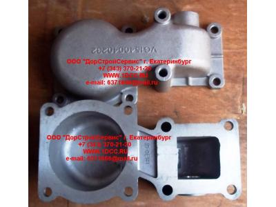 Крышка верхняя разборного термостата смещенная H HOWO (ХОВО) VG1540040232 фото 1 Благовещенск