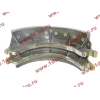 Колодка тормозная задняя с накладками H2/H3 HOWO (ХОВО) WG199000340061 фото 3 Благовещенск