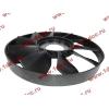 Вентилятор радиатора на гидромуфту d-590 H HOWO (ХОВО) VG1500060047 фото 3 Благовещенск