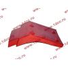 Брызговик передней оси правый H2 красный HOWO (ХОВО) WG1642230004 фото 3 Благовещенск