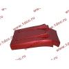 Брызговик передней оси правый H3 красный HOWO (ХОВО) WG1642230104 фото 4 Благовещенск