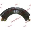 Колодка тормозная задняя с накладками H2/H3 HOWO (ХОВО) WG199000340061 фото 4 Благовещенск