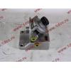 Кронштейн топливного фильтра грубой очистки (с помпой, 4 отверстия) H3/SH/F HOWO (ХОВО)  фото 4 Благовещенск