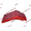 Брызговик передней оси правый H2 красный HOWO (ХОВО) WG1642230004 фото 4 Благовещенск